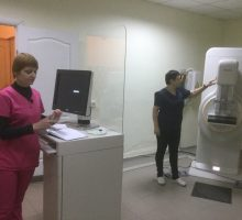 Цифрова мамографічна система «Mammo Diagnost DR»
